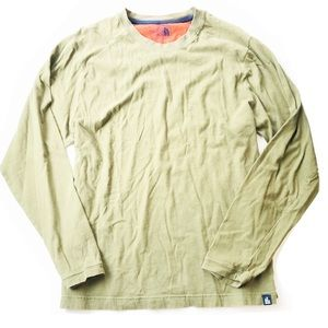 The North Face Men's Olive Green Long Sleeve Shirt